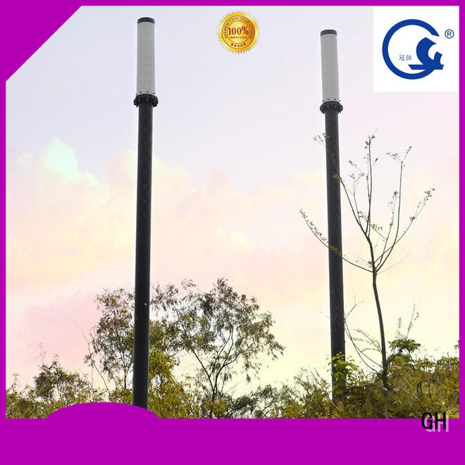 GH intelligent street lamp cost effective for lighting management