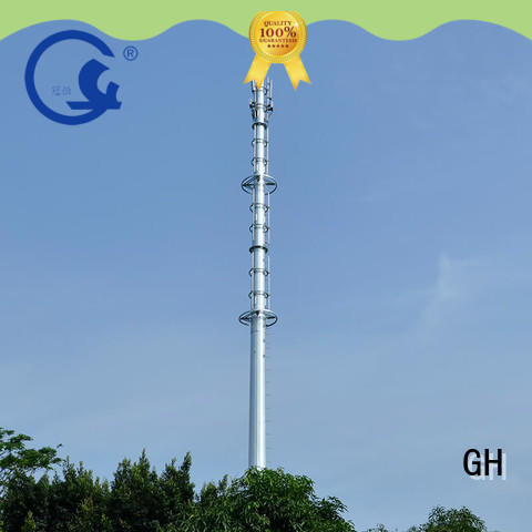 cost saving antenna tower suitable for telecommunication