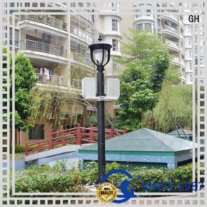 GH advanced technology smart street light pole good for public lighting