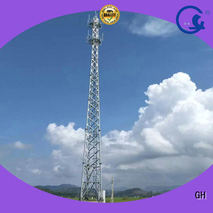 Three tube tower, Pipe tower,communication tower