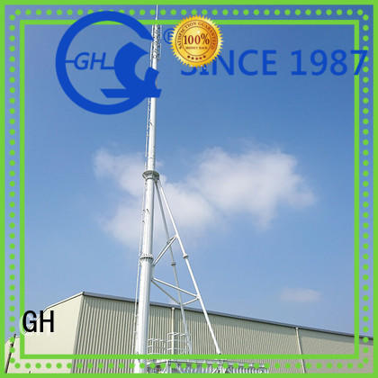 GH strong practicability integrated tower solutions suitable for communication industy