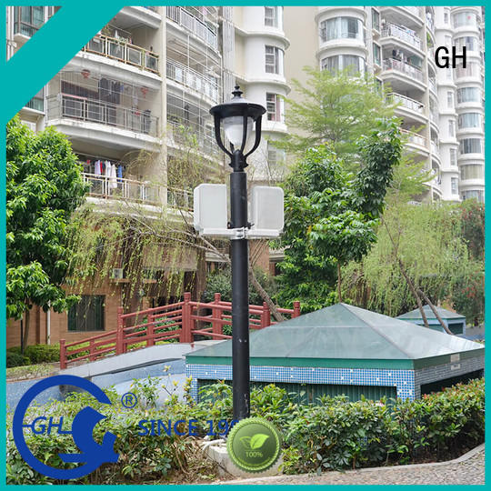 GH smart street light pole good for public lighting