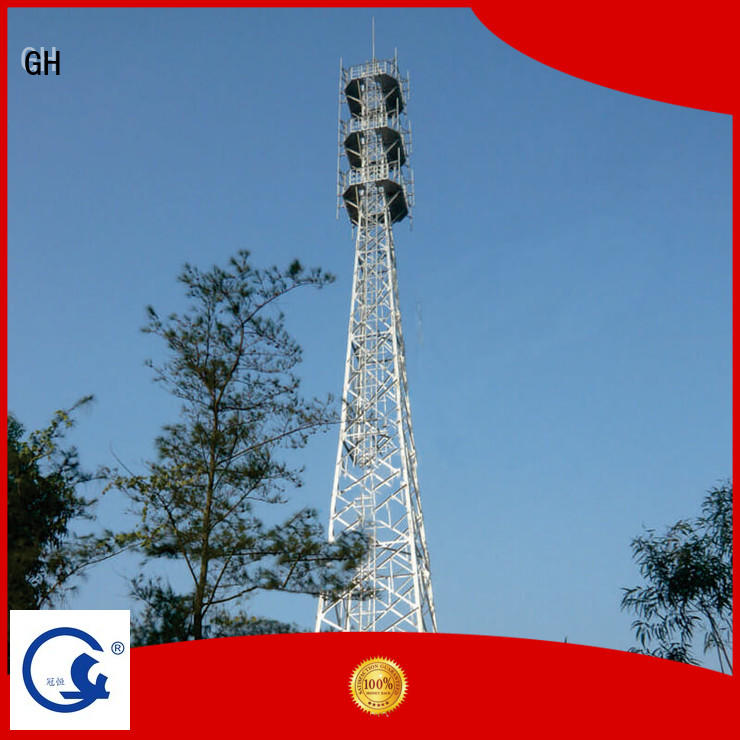 GH cost saving telecommunication tower suitable for communication industy