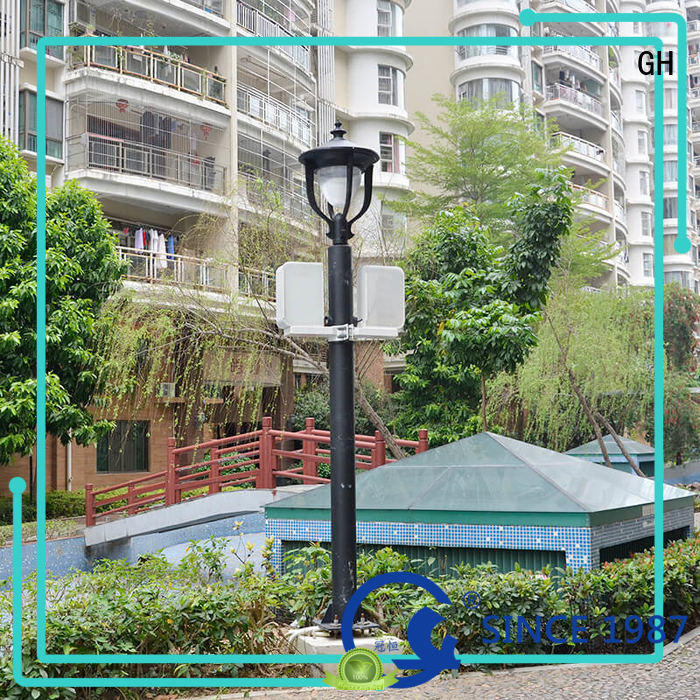 GH advanced technology street lamp post public lighting