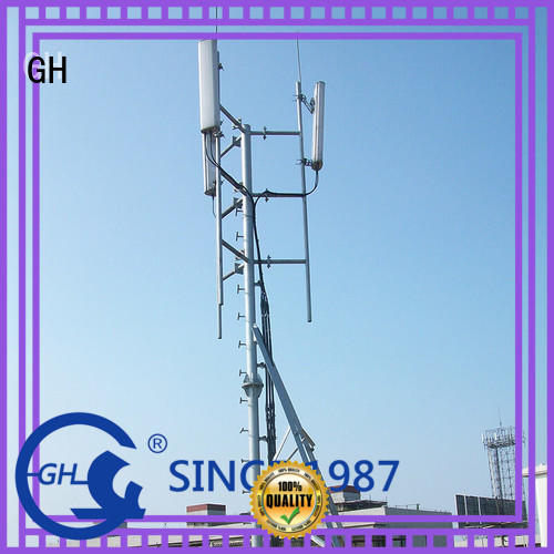 GH antenna support pole with great praise for communication industry