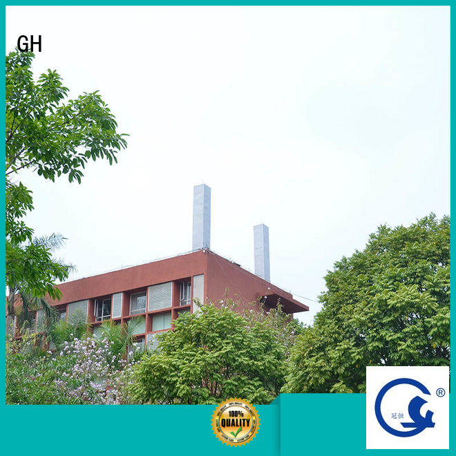 GH anti-ultraviolet antenna cover with strong transmission for communication industry