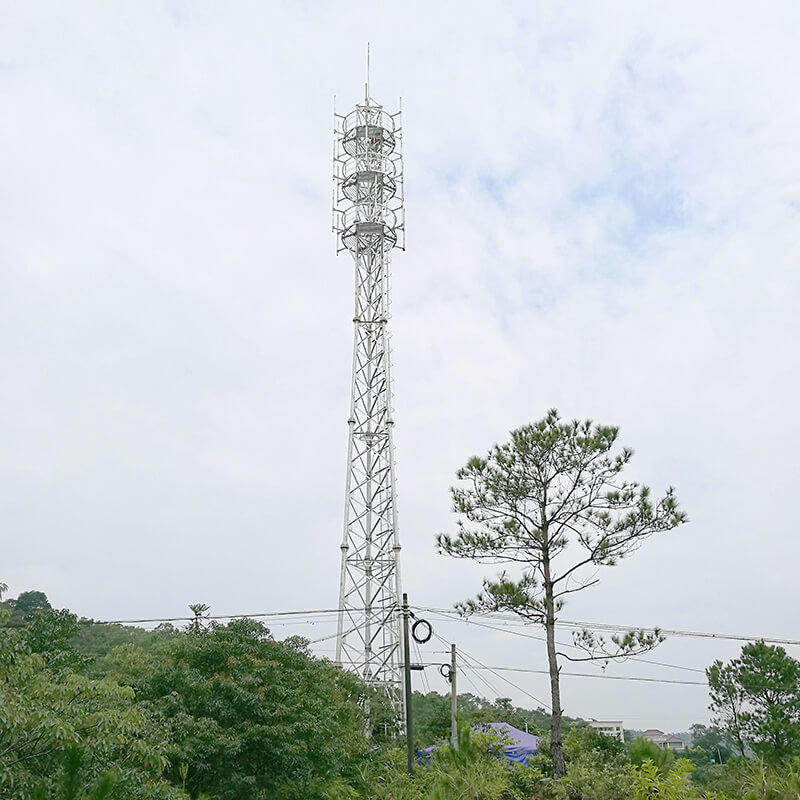 light weight telecommunication tower ideal for comnunication system-2