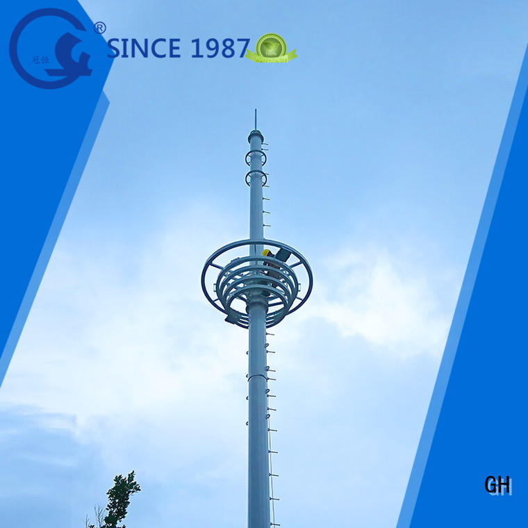 GH monopole tower suitable for communication industy