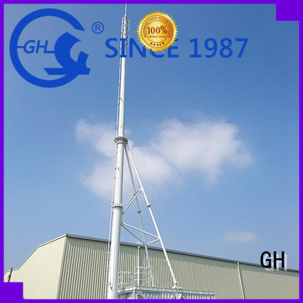 GH integrated tower solutions with high performance for communication system