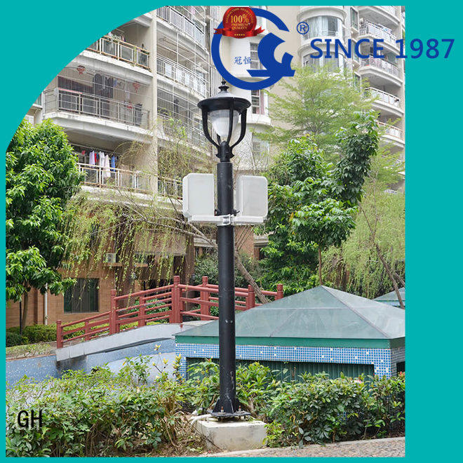 GH intelligent street lamp good for lighting management