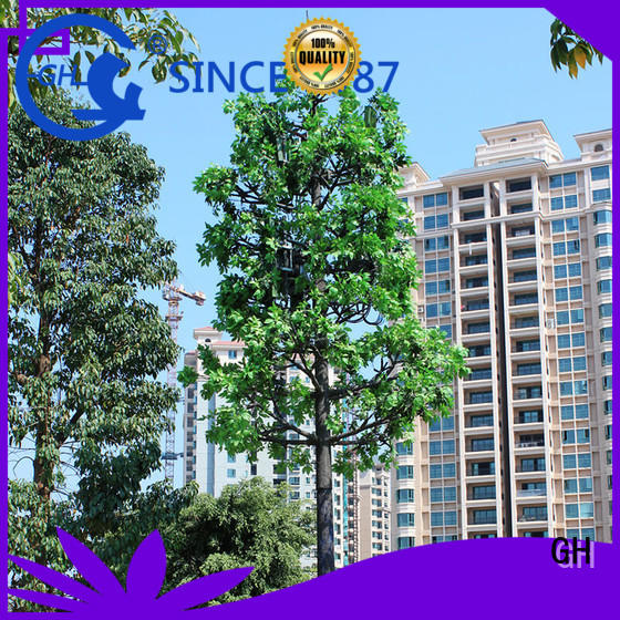 GH stable pine tree cell tower with good quality for signals transmission