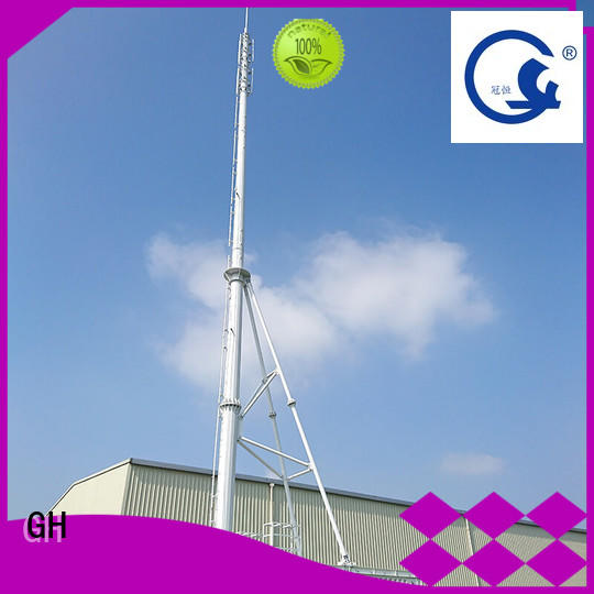 GH convenient assembly integrated tower systems suitable for strengthen the network
