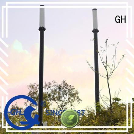 GH smart street light pole ideal for lighting management