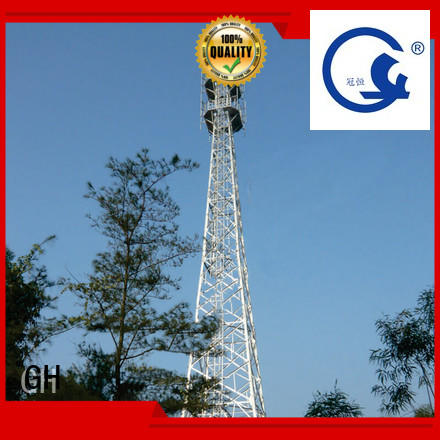 light weight telecommunication tower excelent for telecommunication