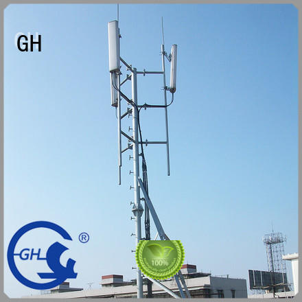 antenna support pole suitable for communication industry GH