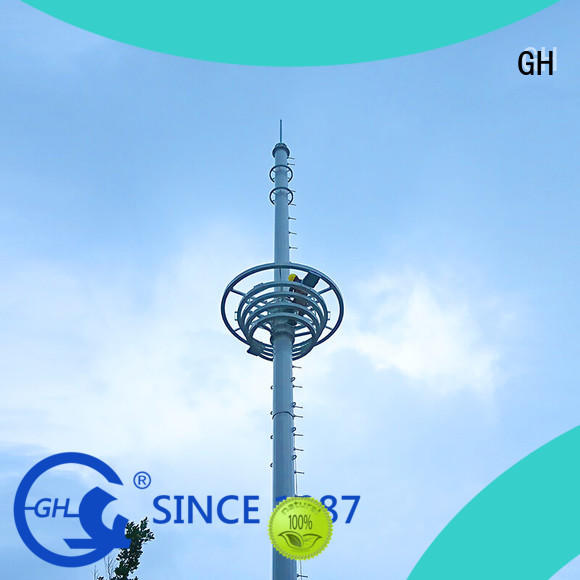 GH light weight mobile tower excelent for communication industy