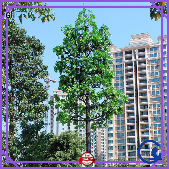 GH reliable fake tree cell phone tower with good quality for mobile phone signals