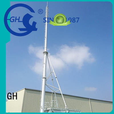 GH strong practicability integrated tower systems suitable for communication industy