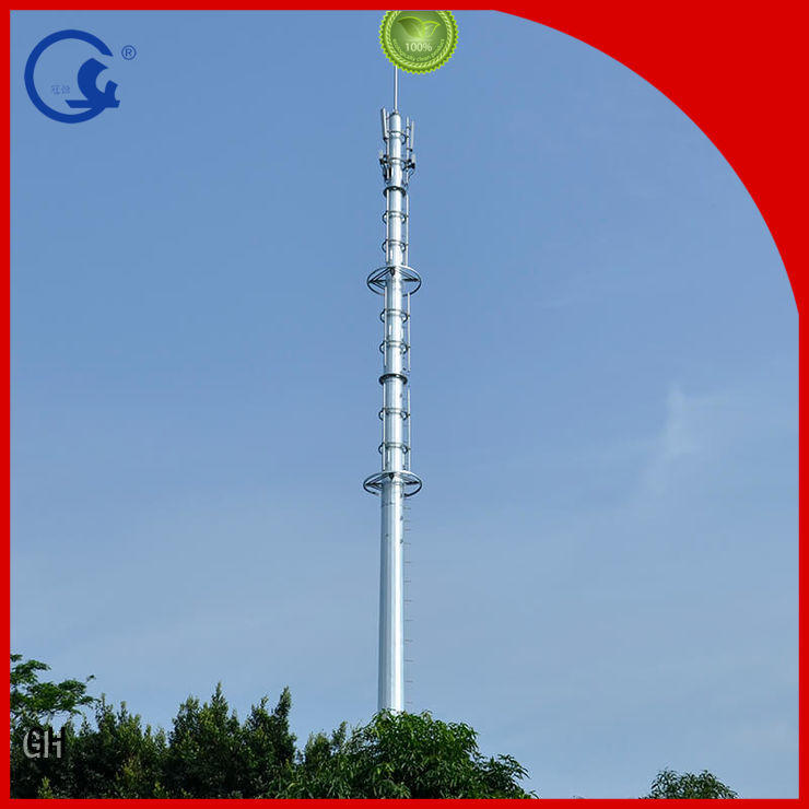 Single tube tower, Communication rod