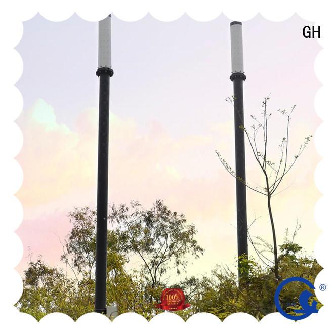 advanced technology smart street light pole ideal for public lighting