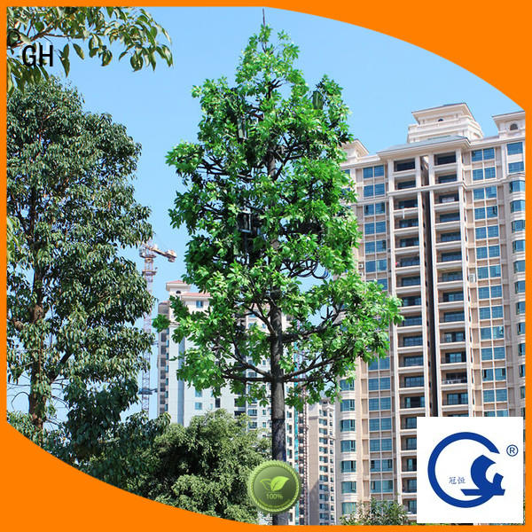 GH simple structure palm tree cell tower with good quality for mobile phone signals