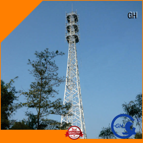 GH telecommunication tower suitable for communication industy