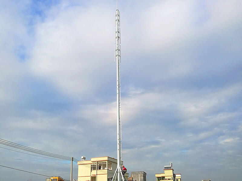 GH convenient assembly integrated tower systems with high performance for communication system-1