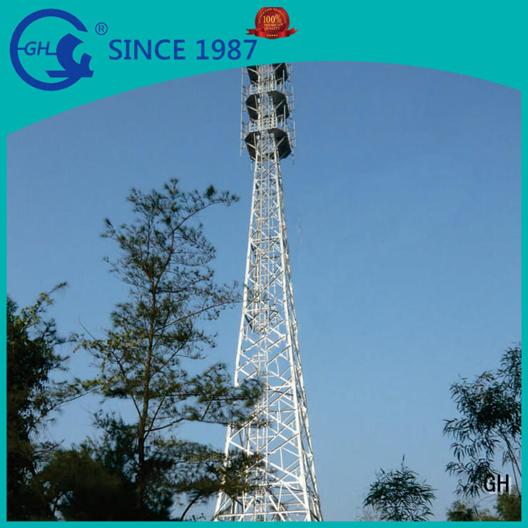 GH good quality cell phone tower suitable for telecommunication