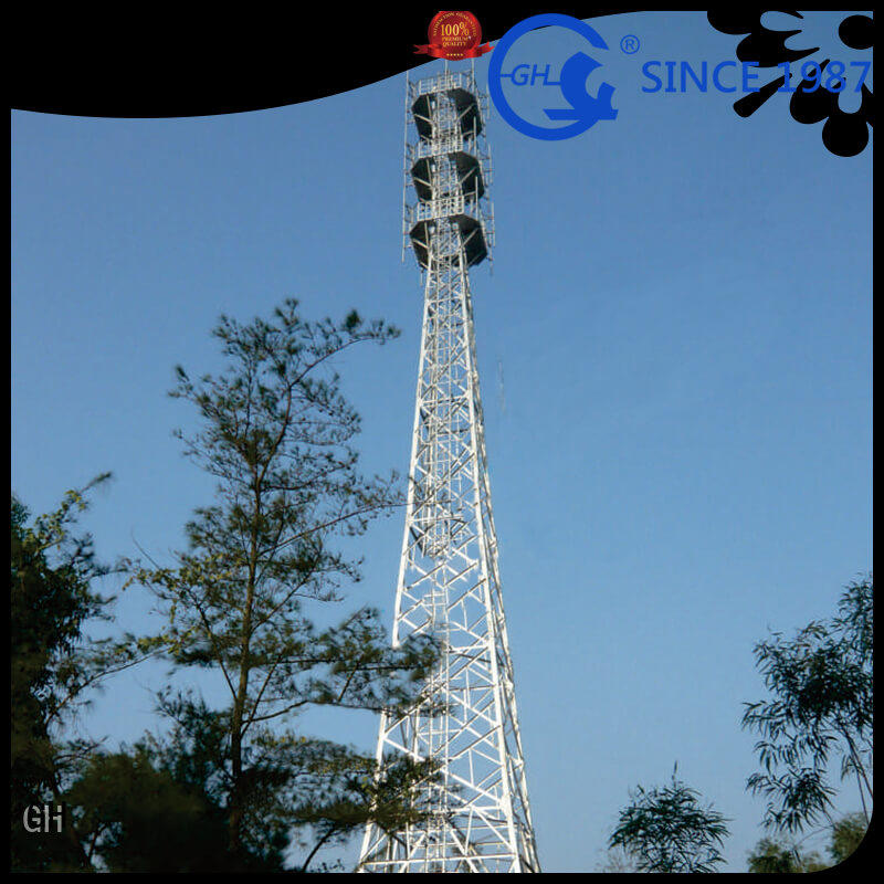 GH mobile tower suitable for communication industy