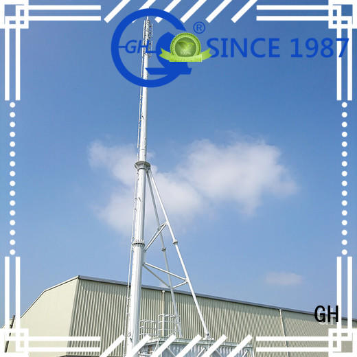 GH integrated tower solutions ideal for communication industy