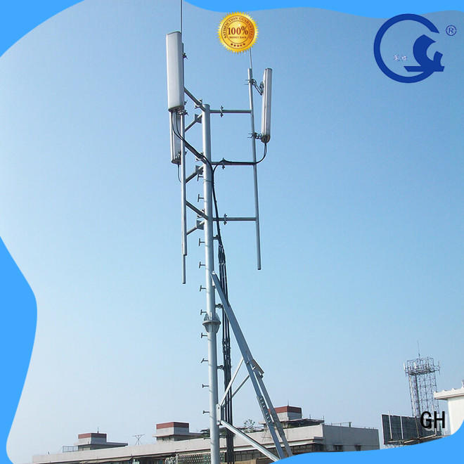 antenna support pole with great praise for communication industry