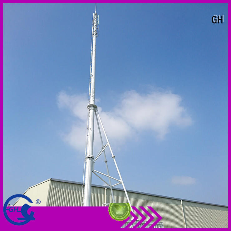 GH convenient assembly integrated tower systems strengthen the network